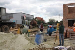 ЖК Бельгійське Містечко - повний геодезичний супровід, винесення в натуру конструктивних елементів, виконавче знімання, трасування інженерних мереж, обрахунок земляних мас