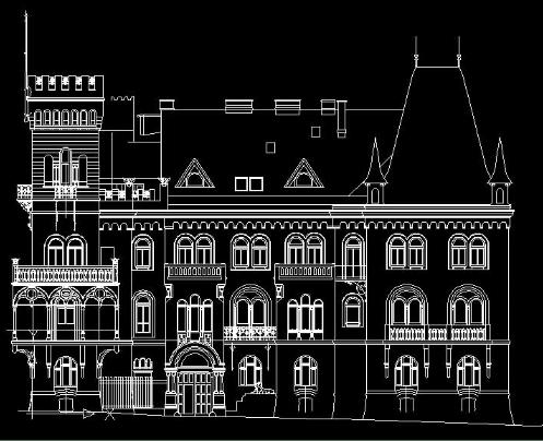 Лазерное 3d сканирование сложных контуров зданий, помещений, сооружений, объектов архитектуры