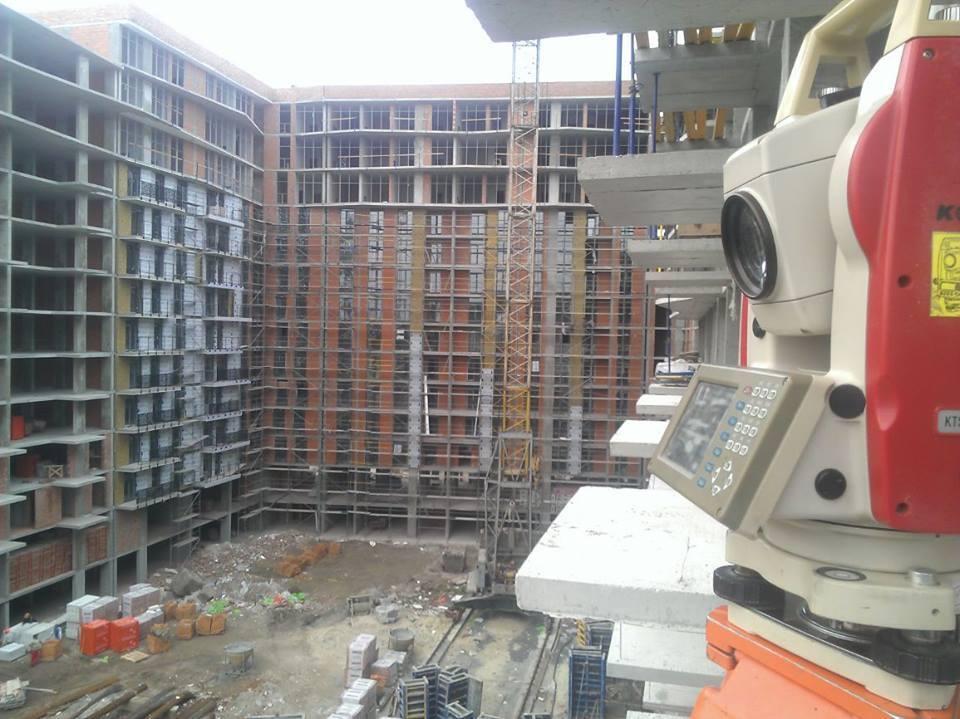 Полное геодезическое сопровождение строительства: жилые комплексы, Промышленные объекты, АЗК и линейные объекты