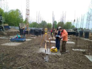 Виніс та розбивка будівельних осей: європейський підхід до будівництва
